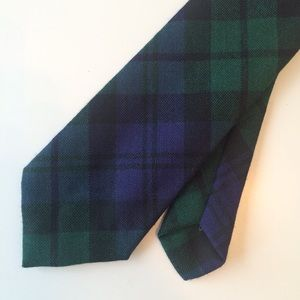 Blackwatch Plaid Men's Necktie - Scotland
